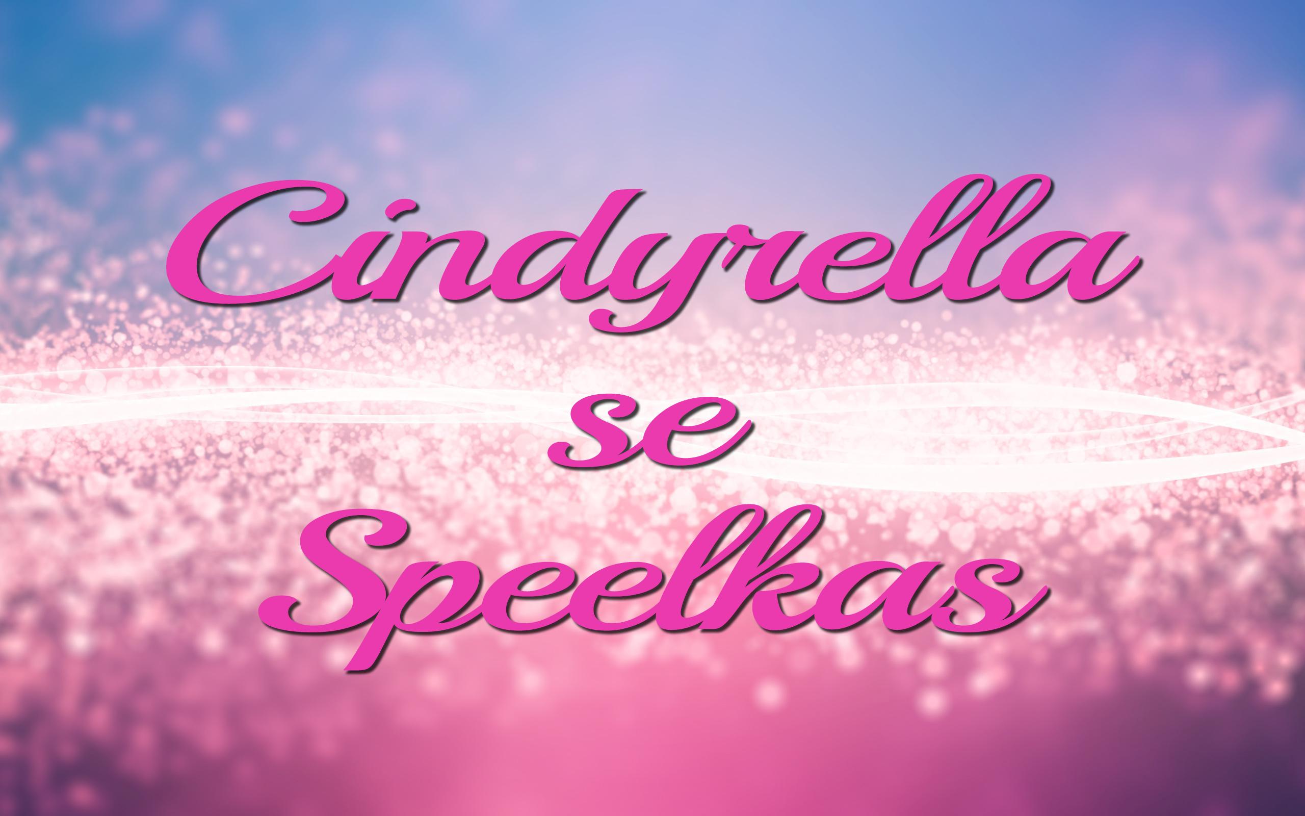 Cindyrella se Speelkas